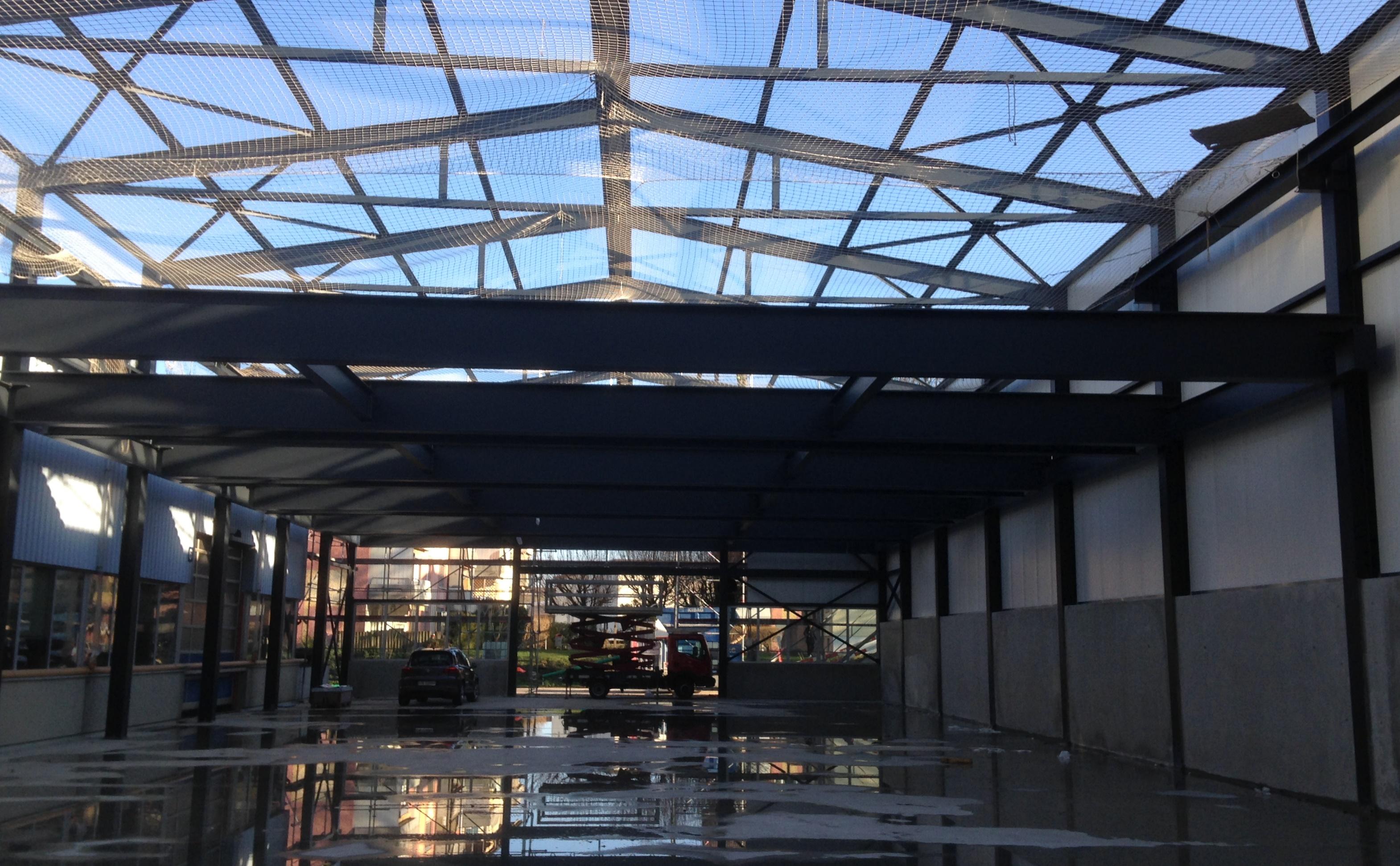 Amriswil, Neubau Moser Stalleinrichtungen